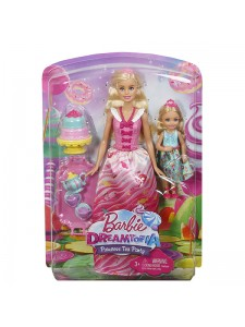 Игровой набор Barbie Чаепитие FDJ19