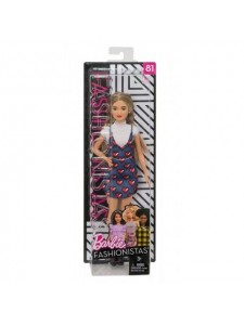 Кукла Барби Игра с модой Barbie Fashionistas FJF46