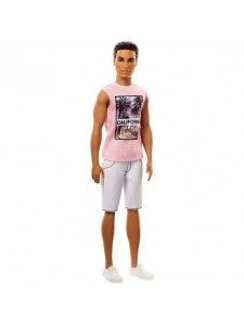 Кукла Кен Игра с модой Barbie Fashionistas FJF75