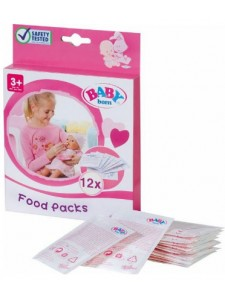 Каша для куклы Беби Бон 779170 12 пакетиков