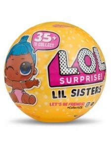 Кукла Лол Сюрприз сестричка в шаре 5 сюрпризов - 3 серия