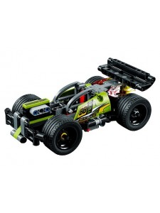 Лего 42072 Зеленый гоночный автомобиль Lego Technic