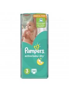 Подгузники Pampers Active Baby Midi 3 (5-9 кг), 54 шт