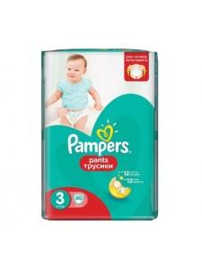 Подгузники-трусики Pampers Pants 3 Midi (6-11 кг), 60 шт