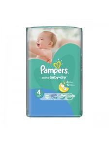 Подгузники Pampers Active Baby Maxi 4 (7-14 кг), 10 шт