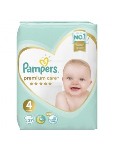 Подгузники Pampers Premium Care 4 Maxi (9-14 кг), 37 шт