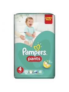 Подгузники-трусики Pampers Pants 4 (9-14 кг), 52 шт