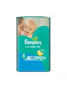 Подгузники Pampers Active Baby Junior 5 (11-18 кг), 10шт