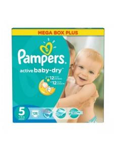 Подгузники Pampers Active Baby Junior5 (11-18 кг), 126 шт