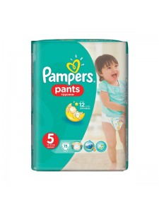 Подгузники-трусики Pampers Pants 5 (12-18 кг), 15 шт