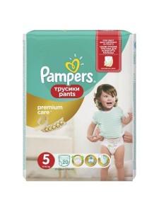 Подгузники-трусики Pampers Premium Care Pants 5 (11-18 кг), 20 шт