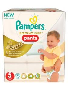 Подгузники-трусики Pampers Premium Care Pants 5 (12-18 кг), 20 шт
