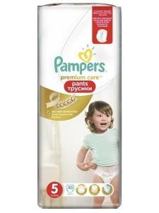 Подгузники-трусики Pampers Premium Care Pants 5 (12-18 кг), 40 шт