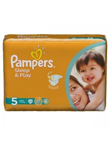 Подгузники Pampers Sleep&Play 5 Junior (11-18 кг), 42 шт