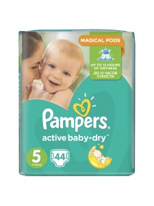 Подгузники Pampers Active Baby Junior 5 (11-18 кг), 44шт