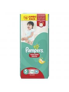 Подгузники-трусики Pampers Pants 5 (11-18 кг), 48 шт