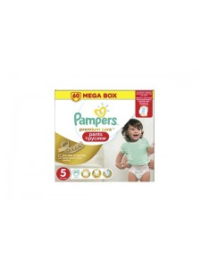Подгузники-трусики Pampers Premium Care Pants 5 (12-18 кг), 60 шт