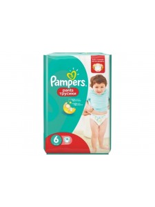 Подгузники-трусики Pampers Pants 6 (16+ кг), 14 шт