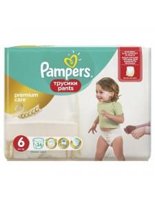 Подгузники-трусики Pampers Premium Care Pants 6 (15+ кг), 36 шт