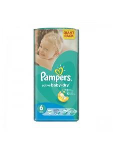 Подгузники Pampers Active Baby-Dry Extra Large 6 (15+ кг), 56 шт