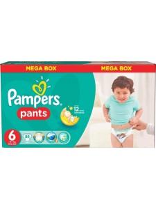 Подгузники-трусики Pampers Pants 6 (16+ кг), 88 шт
