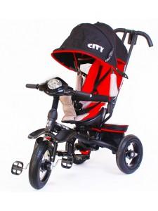 Детский трехколесный велосипед Trike City Sport 5588A-2 (черный)