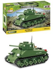 Американский танк Шерман M4A1 Коби Cobi 2708