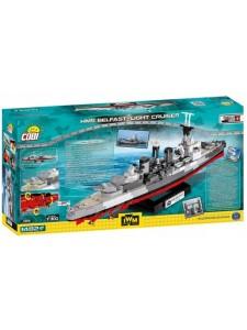 Британский корабль Белфаст Коби Cobi 4821