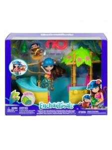 Enchantimals лодка в джунглях с куклой Мерит GFN58