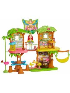 Enchantimals Тропическое кафе с куклой Пикки Какаду GFN59