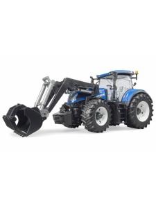 Брудер Трактор с погрузчиком New Holland Bruder 03121