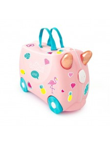 Чемодан на колесах Trunki Фламинго Флосси 0353
