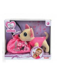Мягкая игрушка Simba Chi Chi Love Собачка Чихуахуа Модная принцесса с сумочкой 10 5890645