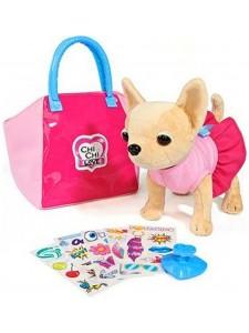 Мягкая игрушка Simba Chi Chi Love Собачка Чихуахуа с сумочкой и набором для декорирования 10 5892313