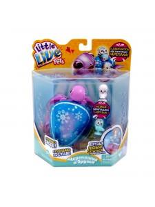 Little Live Pets Черепашка и друзья Снежный бриз