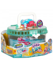 Little Live Pets Черепашка и друзья Песчинка в аквариуме