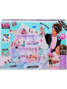 Кукольный домик Лол Зимний дом шале Lol