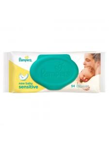 Детские влажные салфетки Pampers New Baby Sensitive, 54 шт