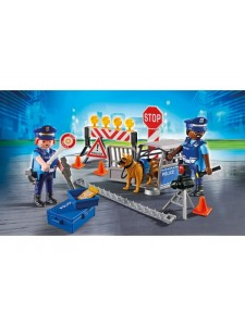 Playmobil Блокпост Полиции 6924