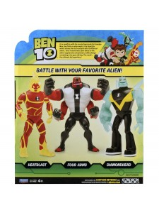 Ben 10 Фигурка Человек-огонь 28см 76651