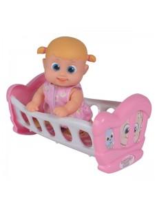 Bouncin Babies Кукла Бони с кроваткой 803002