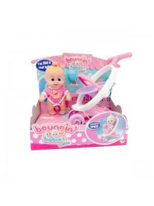 Bouncin Babies Кукла Бони с коляской 803004