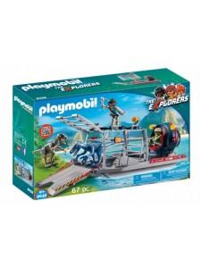 Playmobil Вражеское судно с ящером 9433
