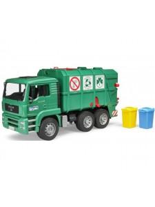 Bruder Мусоровоз Man Tga Зелёный Брудер 02753