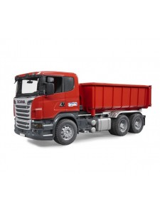Bruder Контейнеровоз Scania Брудер 03522