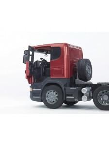 Bruder Тягач Scania с бульдозером CAT Брудер 03555