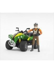 Квадроцикл Bruder с гонщиком 63000 Брудер
