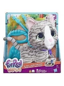 Большой питомец на поводке Кошка Furreal Hasbro E4781