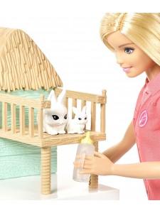 Кукла Барби Спасатель животных FCP78