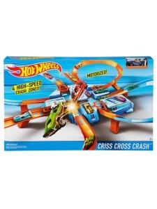 Hot Wheels Трек Авария крест накрест Хот Вилс DTN42